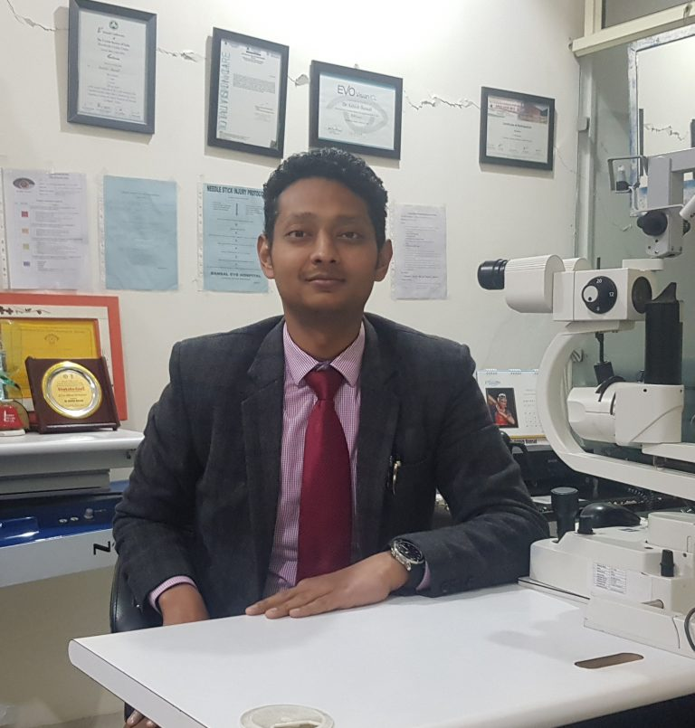 Dr. Ashish Bansal from Bansal Eye Hospital
